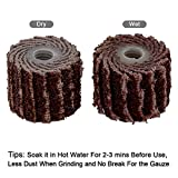 12Pcs 120 Grit Flap Sanding Wheel Head Grinding