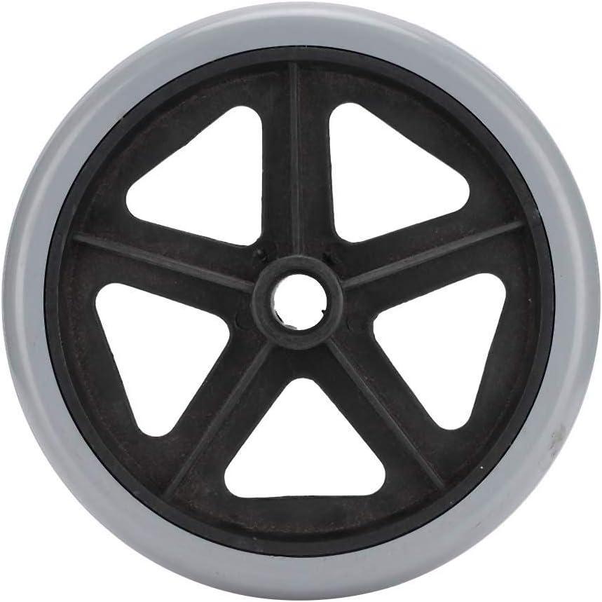 Ruedas para sillas de ruedas, Ruedas eléctricas antideslizantes Ruedas para sillas de ruedas Accesorio para piezas de repuesto para sillas de ruedas resistentes al desgaste(8 inches)