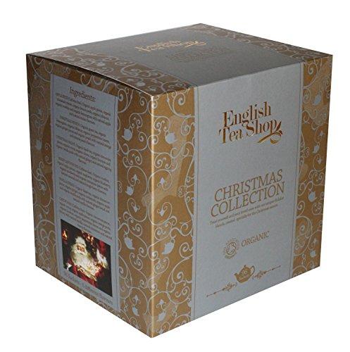 English Tea Shop Christmas Collection Chamber Poly Sachet, Gold Single, 145 Gram