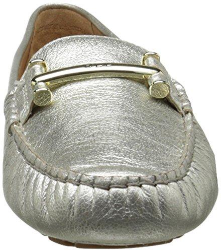 Mocassino Lauren Ralph Lauren Womens Caliana Platino Cascade Leather