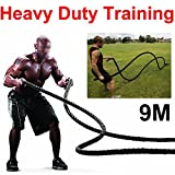 Checknow 38mm Training Battling Battle Power Rope Sport Exercise Fitness Bootcamp