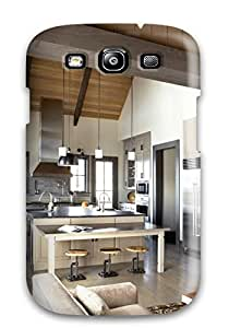 Tough Galaxy Case Cover Case For Galaxy S3 Wooden Beams And Nature Scenes