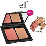 e.l.f. Studio Contouring Blush & Bronzing Powder 83604 Fiji (Matte) by e.l.f. Cosmetics