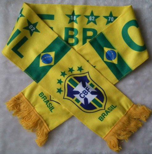 BRAZIL BRASIL BADGE LOGO FOOTBALL SOCCER (Soccer Ball Logo)