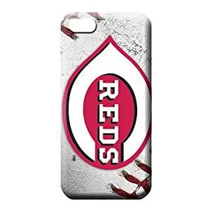 diy zhengiPhone 6 Plus Case 5.5 Inch normal Sanp On High Grade Protective Cases cell phone skins cincinnati reds mlb baseball