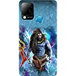 BuyFeb Back Cover Case Compatible for Infinix Hot 10s (Silicon Soft Printed Mobile Cover) – Design215