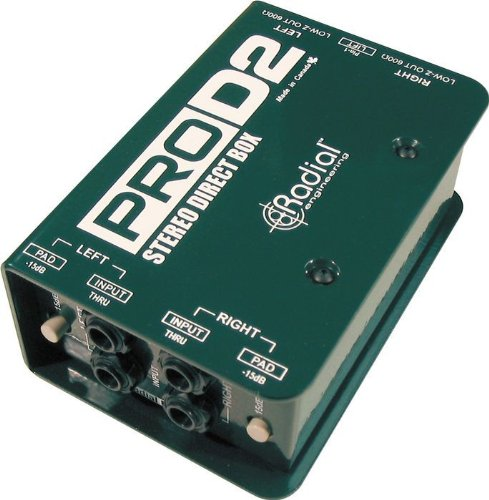 Stereo Direct Box - Radial ProD2 Passive 2 Channel Direct Box