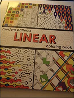 Linear Modern Patterns Coloring Book: Mindware: 9781933054247 ...