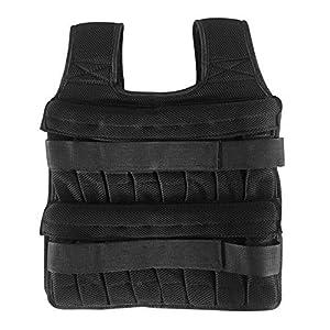 Well-Being-Matters 51d5hCKHGDL._SS300_ CfoPiryx Weight Vest No Steel Plates, 5KG 15KG 35KG Max Load Mesh Breathable Workout Equipment Adjustable Weightloading…