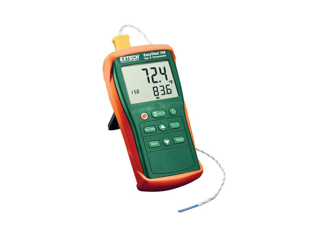 Extech EA11A-NIST Easy View Type K Single Input Thermometer with NIST