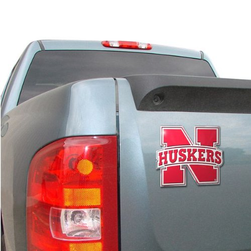 NCAA Nebraska Cornhuskers Die Cut Color Automobile - Nebraska Mall Outlet