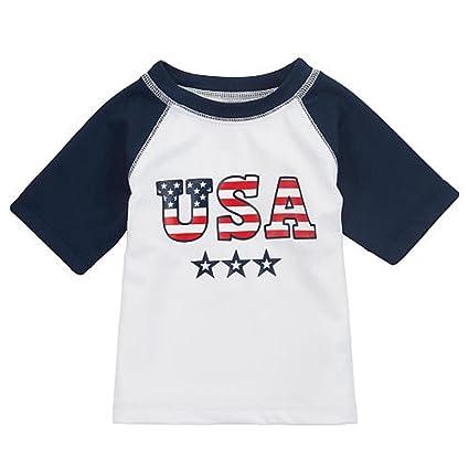 17ff8d77 Amazon.com : Koala Kids Boys' Raglan Sleeve Rash Guard Top - Size: Newborn  : Other Products : Everything Else