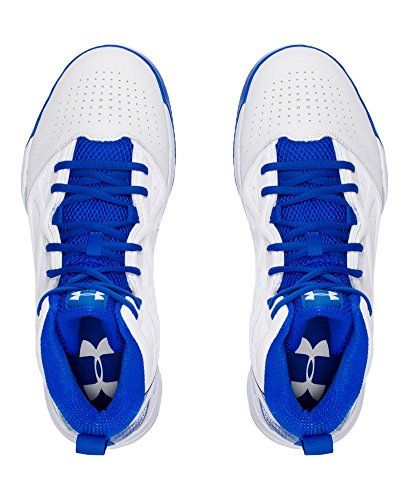 Under Armour Hombres Jet Mid White / Ultra Blue / Ultra Blue