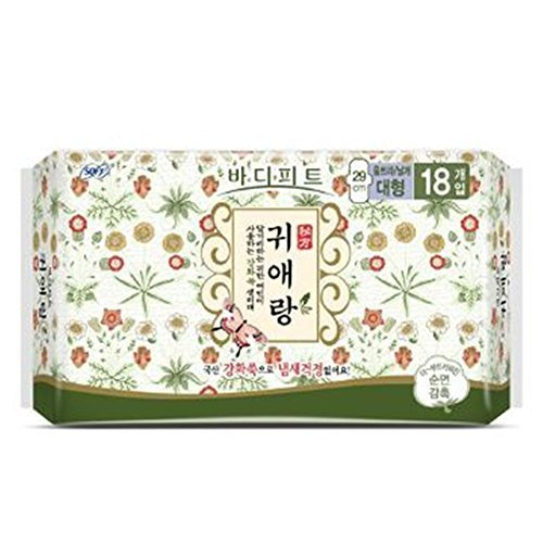 Sofy Body Fit GUIERANG Korea Herbal Sanitary Pads 18ea (Large 29cm)
