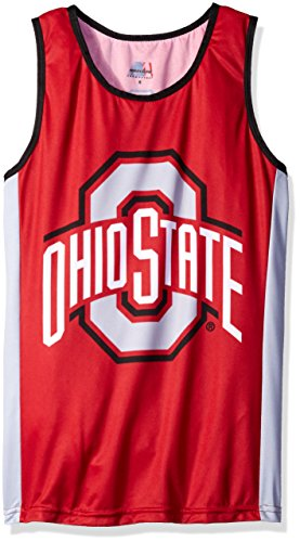 NCAA Ohio State Buckeyes RUN/TRI Singlet, Red, XX-Large (Jersey Cycling State Washington)