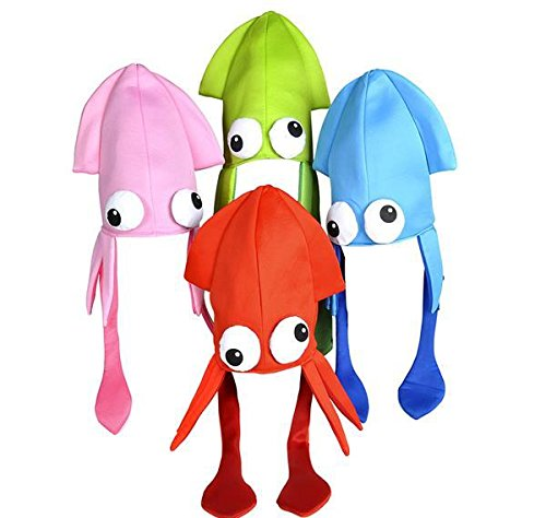 SQUID HAT MIX, Case of 24 by DollarItemDirect