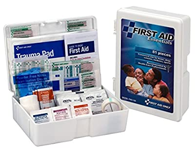 First Aid Only All-purpose First Aid Kit, 81-Piece Kit (Pack of 3) from First Aid Only