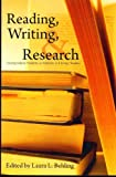 img - for Reading Writing Research Undegraduate Students As Scholars in Literary Studies book / textbook / text book