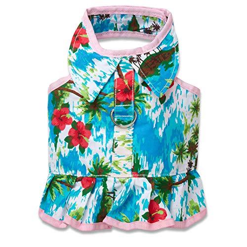 XS Hawaiian Dress - Harness Doggles Xs
