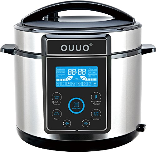 OUUO Programmable Smart Electric Pressure Cooke...