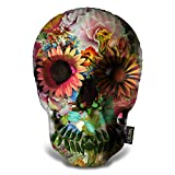 LiLiPi Skull 2 Decorative Accent Throw Pillow