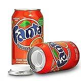 Gastro Club Compatible with Fanta Orange Diversion Safe Stash Can