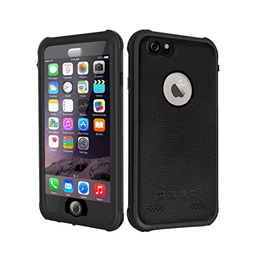 BESINPO Waterproof Case iPhone 6 6s, Underwater Full Body Protection Cases Drop Proof Cover Fully Supports Finger Print Function for iPhone 6/6s 4.7 inch Only