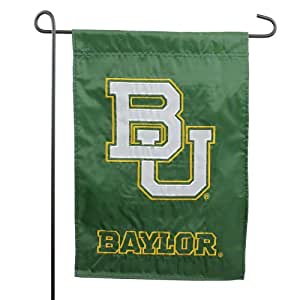 Baylor Bears Applique Logo Garden Flag