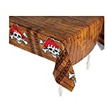 Fun Express Pirate Tablecover Tablecloth