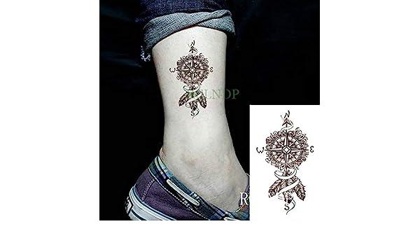 ljmljm 5 Piezas Pegatinas de Tatuaje a Prueba de Agua Moon Hill ...