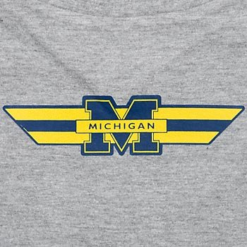 NCAA Michigan Wolverines Pet T-Shirt, Team Color, Small