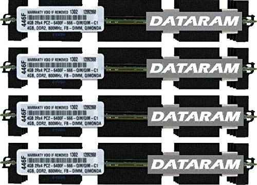 16GB (4X4GB) MEMORY Ram For Mac Pro Early 2008 - BTO/CTO - MacPro3,1 - A1186 , 2180