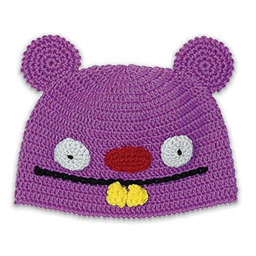 Uglydoll Trunko Uglyhat Purple   Cap Kids Garment Knit Ugly Doll Hat
