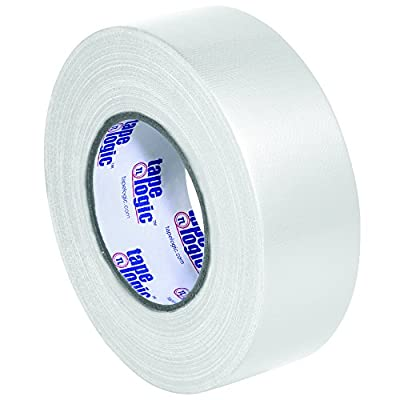 "BOX USA BT987100W White Tape Logic Duct Tape, 10 mil, 2"" x 60 yd. (Pack of 24) from BOX USA"