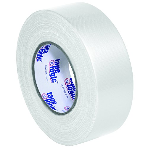 """BOX USA BT987100W White Tape Logic Duct Tape, 10 mil, 2"""" x 60 yd. (Pack of 24)"""