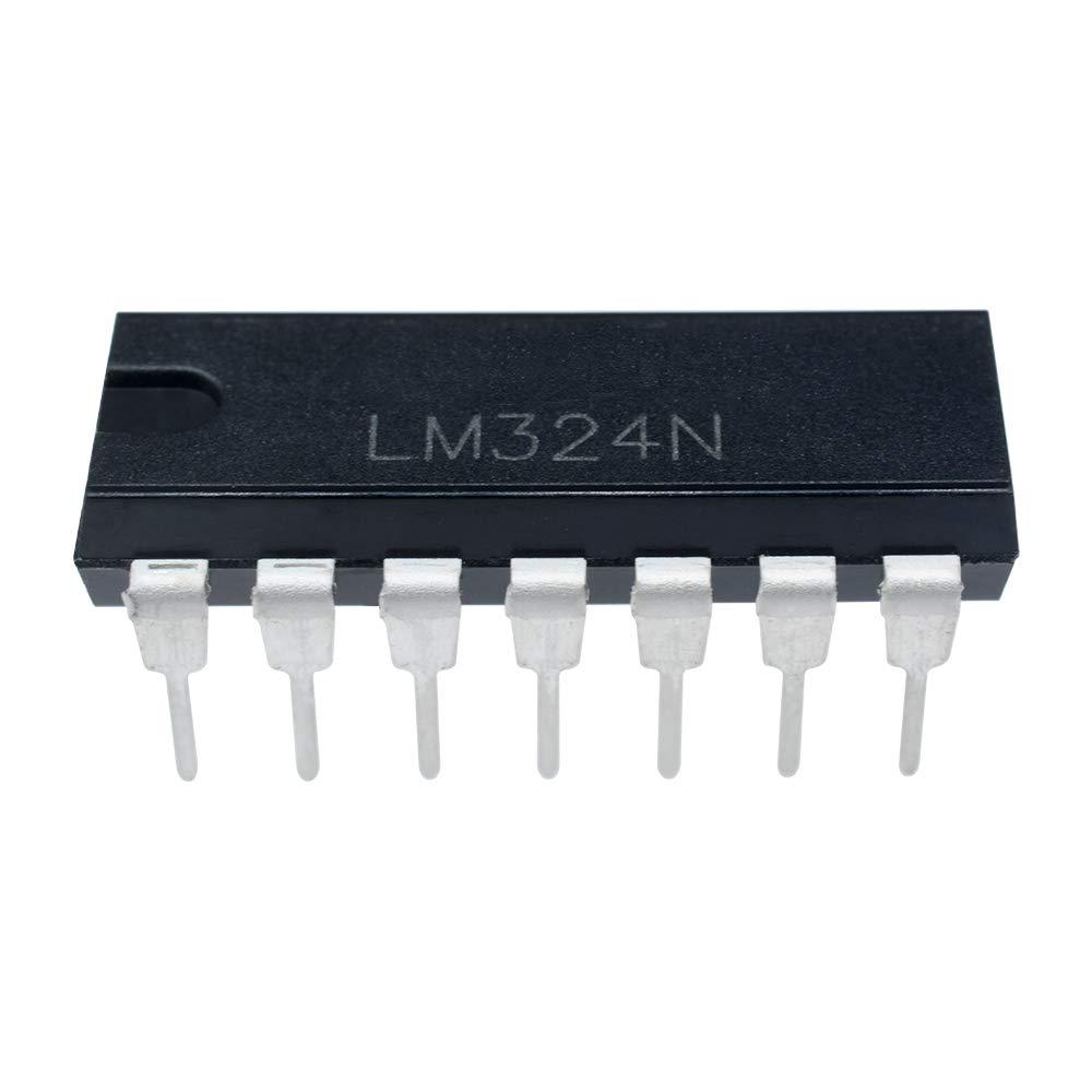 OP Amp Quad General Purpose /±16 Volt32 V 20 pcs Texas Instruments LM324N