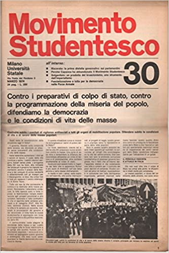 Movimento Studentesco: marzo 1974 N.30