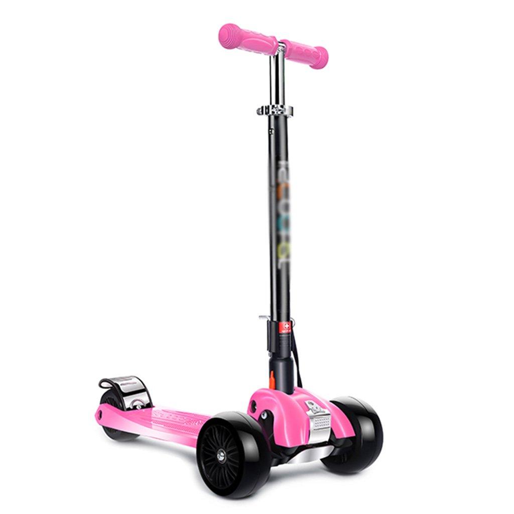 春夏新作 スチューデントスクーター多機能折りたたみ式持ち上げ三輪式ペダル乗り物ブロックは、フライングホイールが315歳で座ることができます Pink B07FZ9H1J4 Pink B07FZ9H1J4 Pink, ヨネダさんちのギフト屋さん:8a14ada4 --- a0267596.xsph.ru