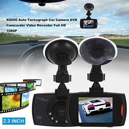 1080 P HD Voiture Dash Cam 2.3 Pouces /Écran Cam/éra Conduite Enregistreur Vid/éo avec Pare-Brise Anti-tremblement Fonction AV Out PC Cam/éra