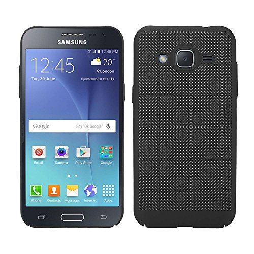 UBERANT Galaxy J2 Case, Rugged PC Armor Heat Dissipation Case Ultra Slim Anti-Scratch Shockproof Protective Cover for Samsung Galaxy J2 2015 J200 4.7