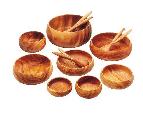 Pacific Merchants Acaciaware 10- by 6- by 2-Inch Acacia Wood Rectangle Serving/Salad Bowl by Pacific Merchants Trading (Image #10)