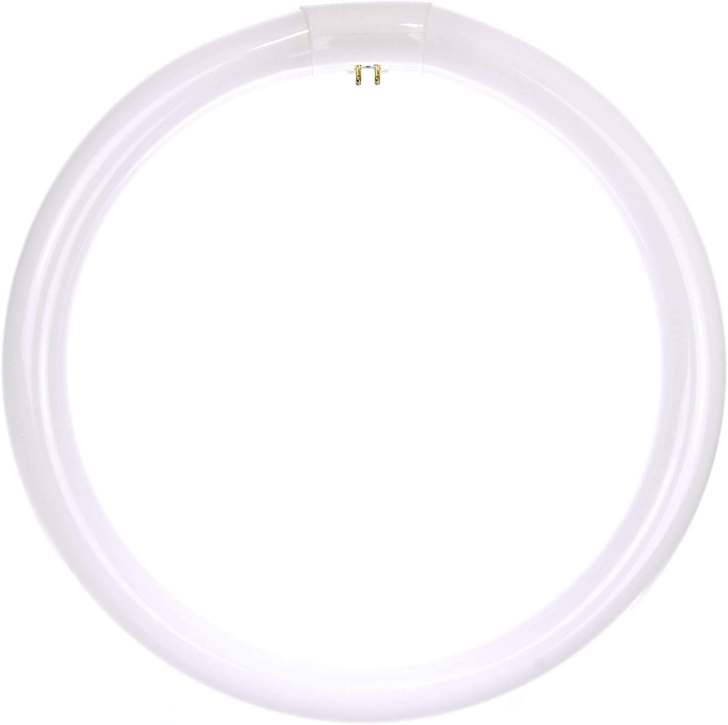 Sunlite 41315-SU FC12T9/CW Circline Fluorescent Lamps, 12-Inch Size, 32 Watts, 2100 Lumens, 4-Pin Base (G10q), 10,000 Life Hours, 41K-Cool White