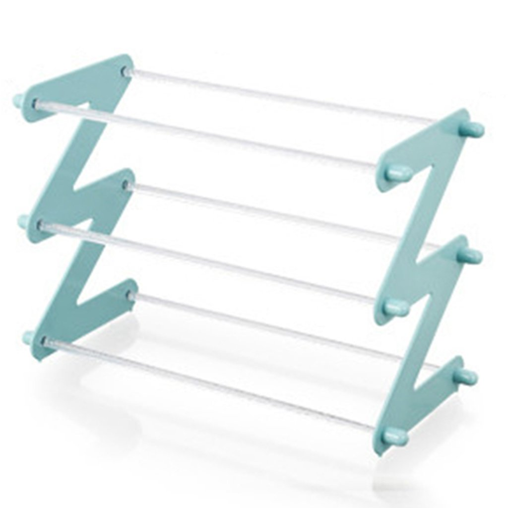 LQQFFShoe Rack Multi-Layer Management Racks, Plastic Shoe Racks, Racks, Storage Racks.