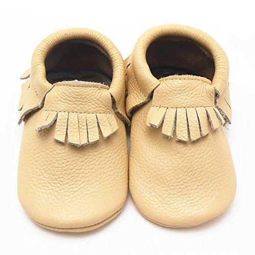 Sayoyo Quasten WeichesLeder Baby Mädchen Schuhe Kleinkinder Junge Schuhe