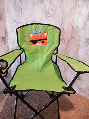 - Personalized Sea Pirate Cat Folding Chair (CHILD SIZE)