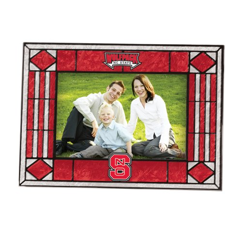 North Carolina State Art Glass Horizontal Frame (Frame State Art Glass)