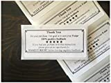 Best unknown Star 100 Stocks - 100 Thank You For Your Purchase!! ENVELOPE/PACKAGE SEALS Review