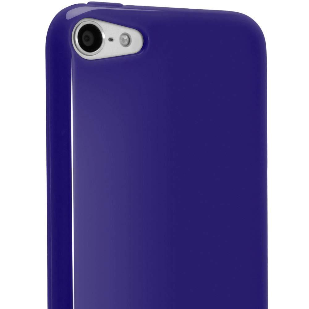 iGadgitz U2029 TPU Funda y Protector Pantalla Adecuado para Apple iPod Touch 5//6//7th Gen Verde