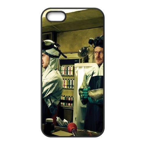 901 Breaking Bad L coque iPhone 4 4S cellulaire cas coque de téléphone cas téléphone cellulaire noir couvercle EEEXLKNBC22453