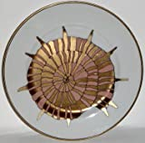 Fitz & Floyd Coquille D'Or Salad Plate Nautilus